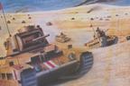 "I carri armati inglesi ""Matilda"" erano macchine micidiali, perfette per i deserti africani."