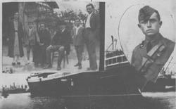 1933 - Battista e la sua famiglia prima di partire per l'Africa Orientale