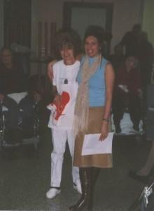 L'infermiera Rosangela (a sinistra nella foto) e l'ASA Emanuela