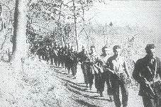Formazione partigiana della Val d'Ossola nel 1944