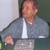 Vincenzo Chiesa gioca a tombola