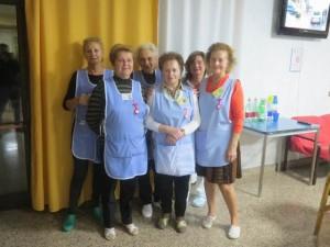 Volontarie in casa di riposo