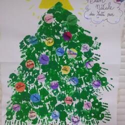 immagine albero natale bambini Milzano_bis