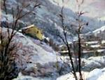 Dipinto di Narciso Gelmini
